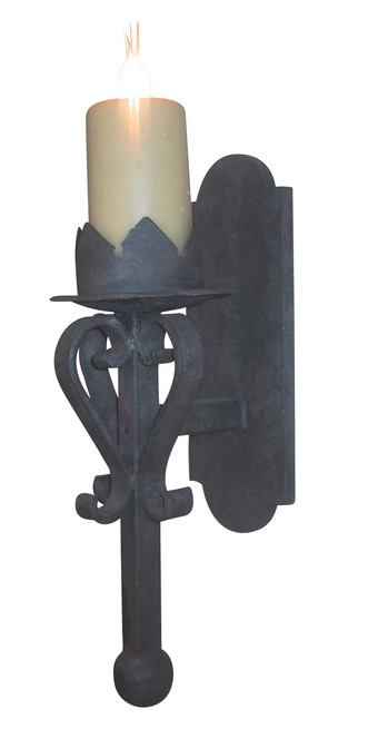 S12A - King Gothic Wall Sconce  sc 1 st  Laura Lee Designs & S12A - King Gothic Wall Sconce u2014 Laura Lee Designs