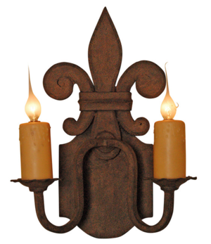 Florence Double Wall Sconce Laura Lee Designs
