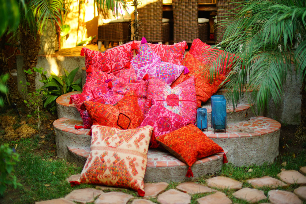 Laura Luna Textiles Pillows