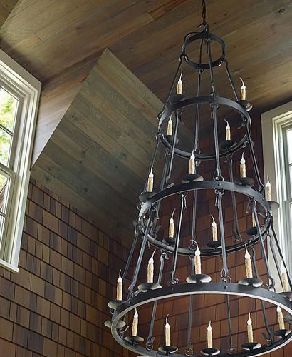 Our Buckingham Chandelier featured in Traditional Home.