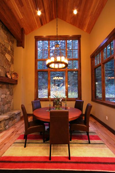 Mallorca Chandelier in a Colorado residence.