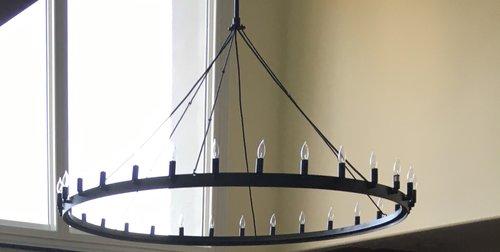 Single tier camino chandelier laura lee designs single tier camino chandelier aloadofball Images