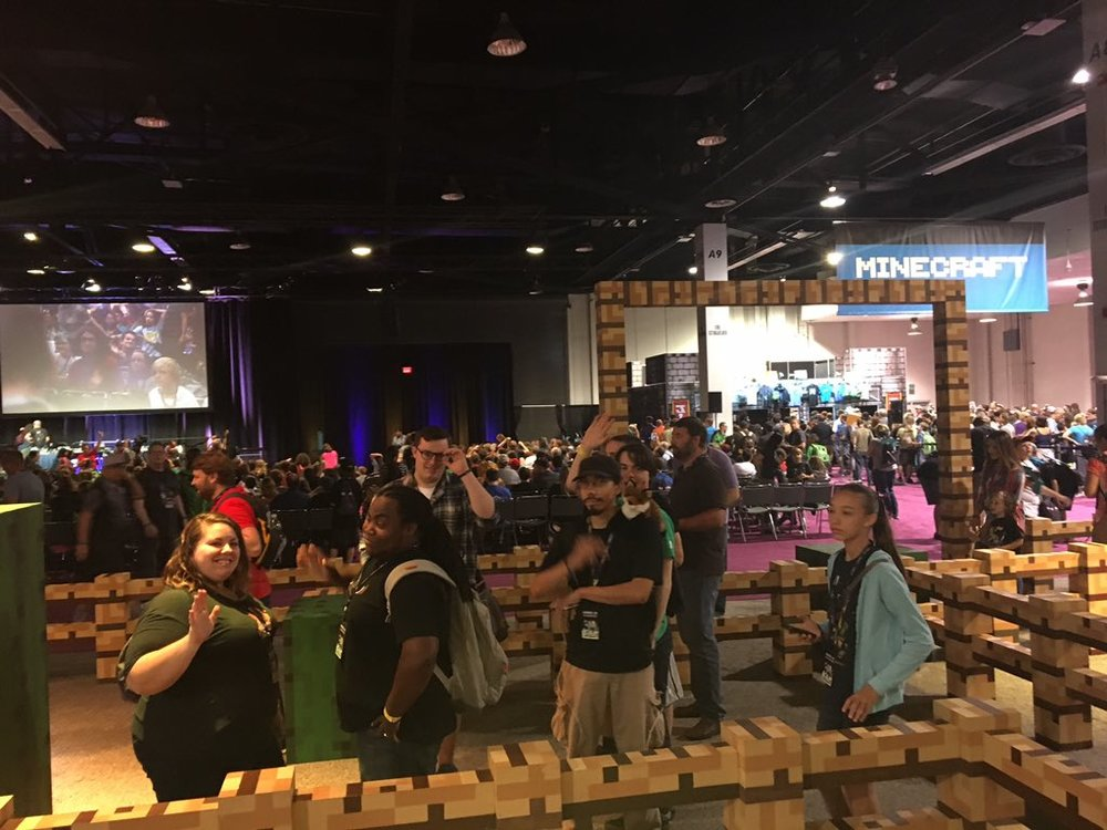 If you want more pictures from Minecon, let us know!