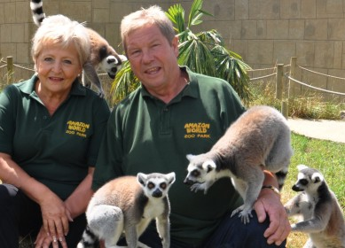 Derek Curtis,  Amazon World Zoo Park