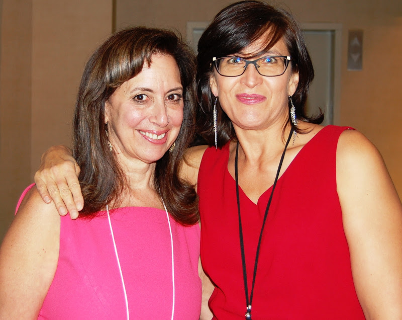 Carol goss (LEFT), board chair, AND MArtha sandler (right) Executive director of on the rise