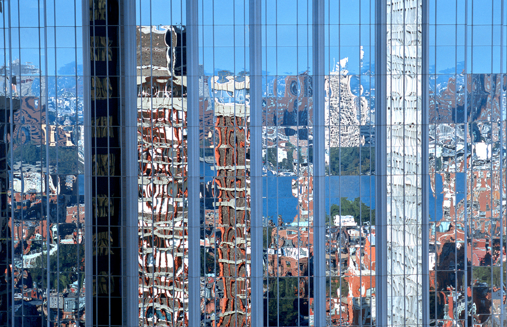 Back Bay Reflection