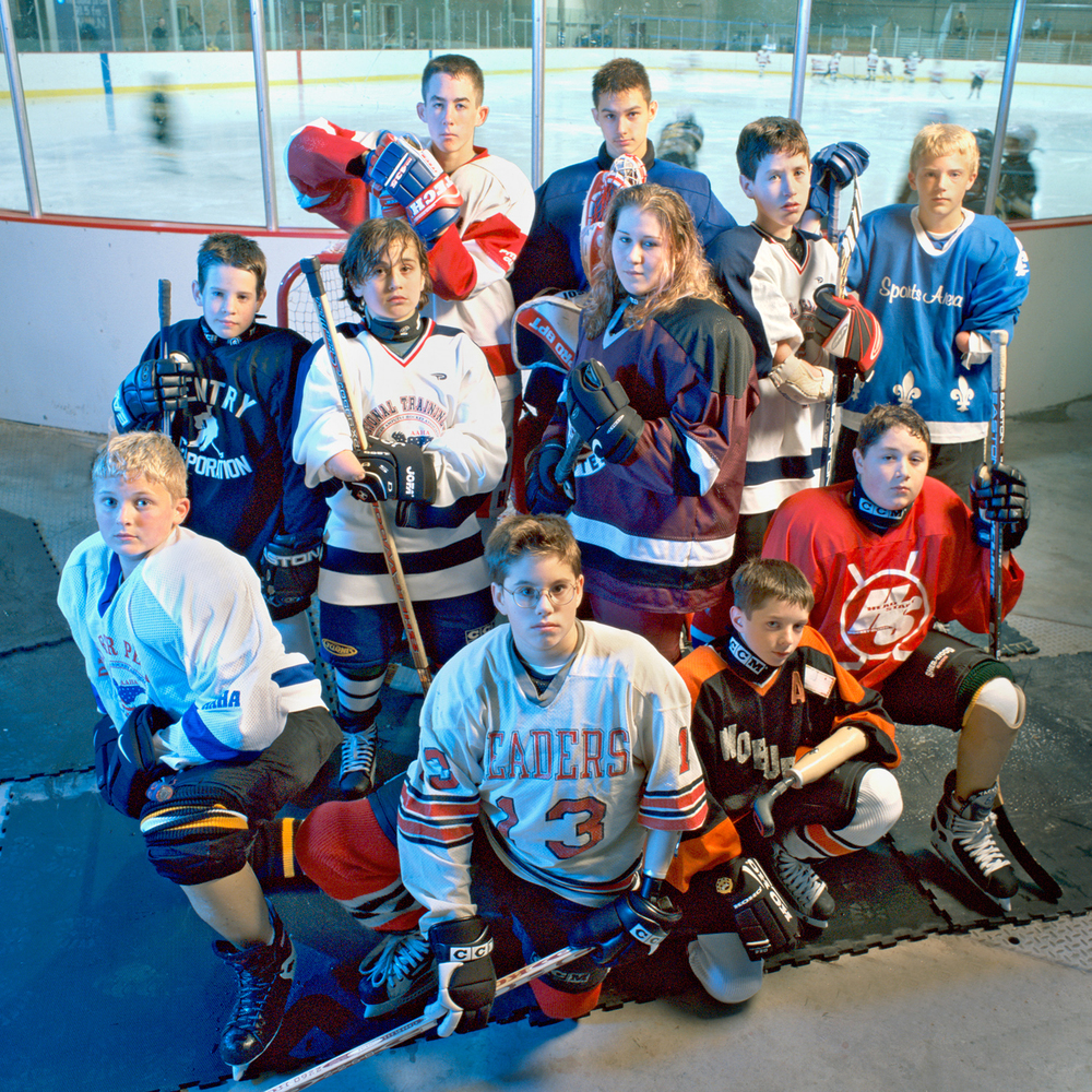 disabled hockey kids