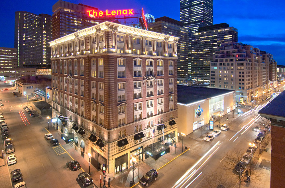 Lenox Hotel Boylston St Boston