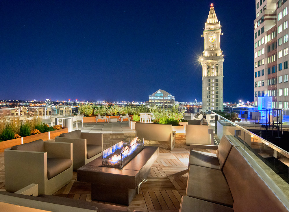 53 State Street roof deck