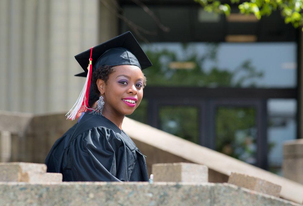 community college graduate