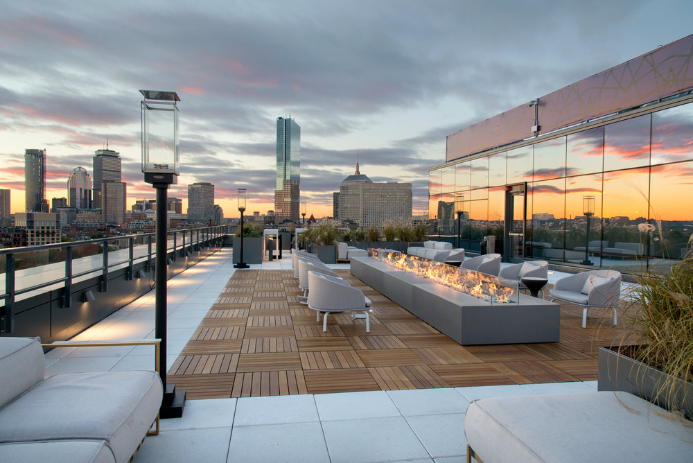 345 Harrison Ave sky deck