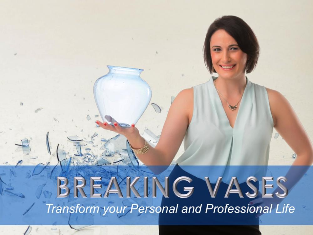 Dima Ghawi Leadership Breaking Vases