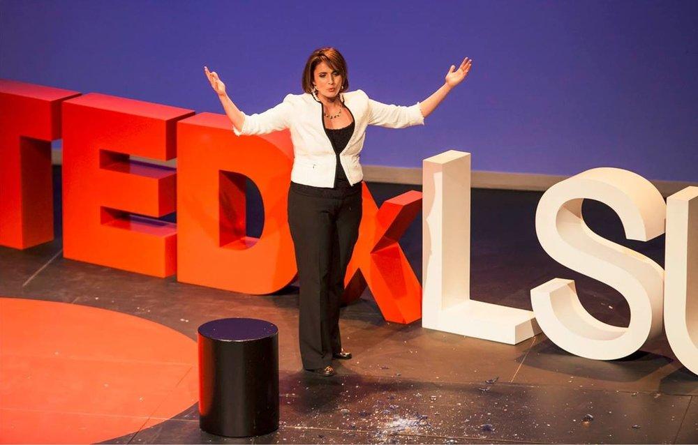 TEDEx LSU Dima Ghawi