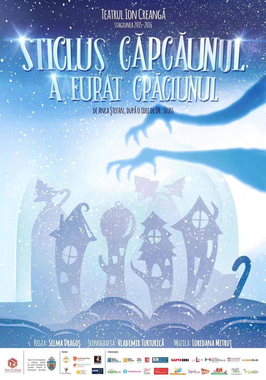 Teatrul Ion Creanga - Sticlus Capcaunul