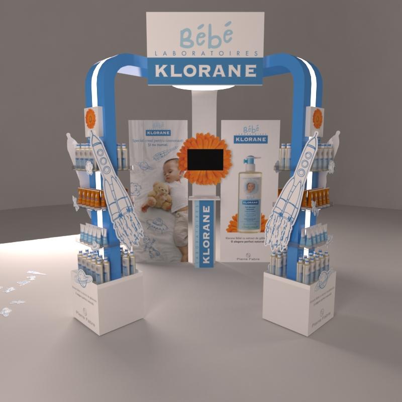 Klorane Bebe In-Store Isle