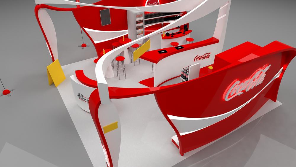 Coca Cola Expo Stand