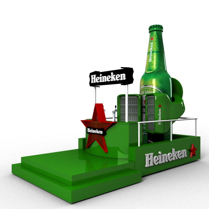 Heineken Mobile bar