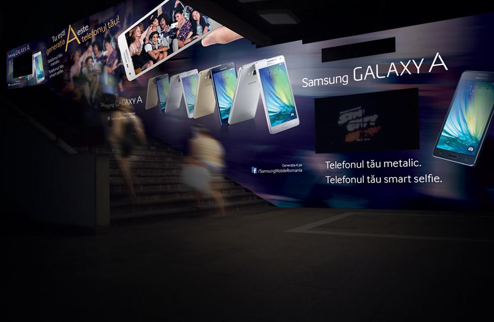 Samsung - Subway print