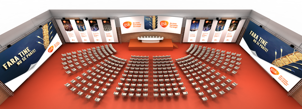 GSK - Event branding