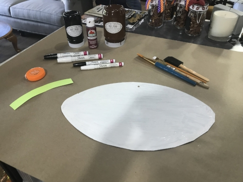 Step One: Prime Your Football. (If You Come To An OTC Paint Class, Your  Item Is Already Primed!)