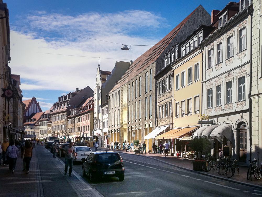 3D Visualisierung, Quartier an der Stadtmauer, Bamberg / Michelgroup