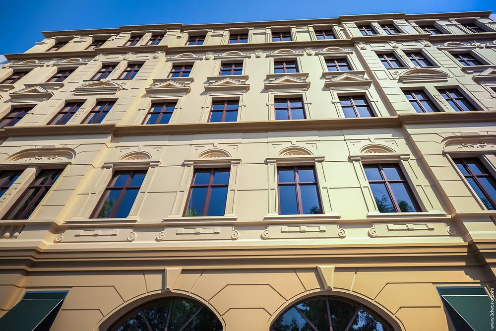 Architekturvisualisierung, Stuckaltbau am Prenzlauer Berg, Visualisierung