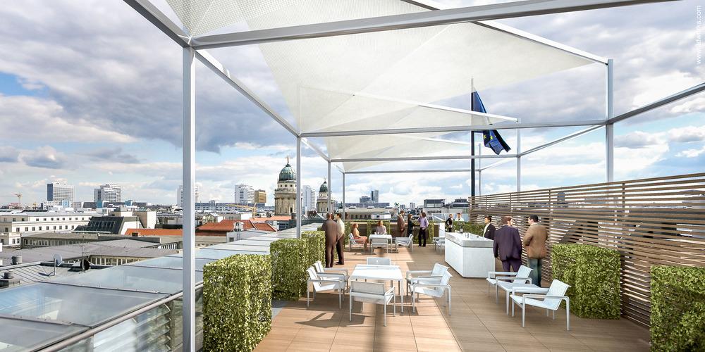 Architekturvisualisierung, Kunde: Deutsche Bank / N+M Architekten und Ingenieure GmbH