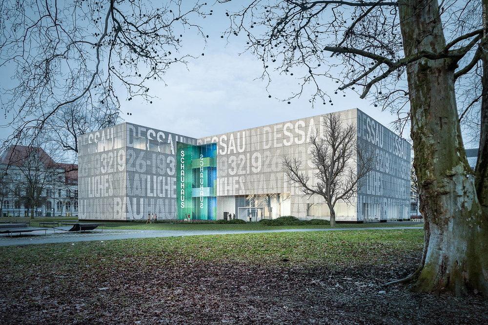 3D Visualisierung, Wettbewerbsperspektive / Dreher Architekt
