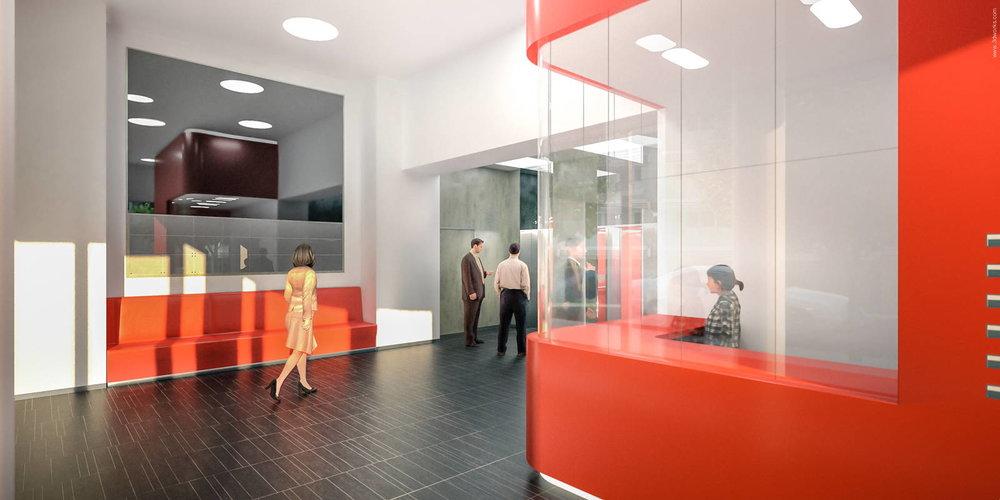 Architekturvisualisierung - Innenraumperspektive, Aukett + Heese