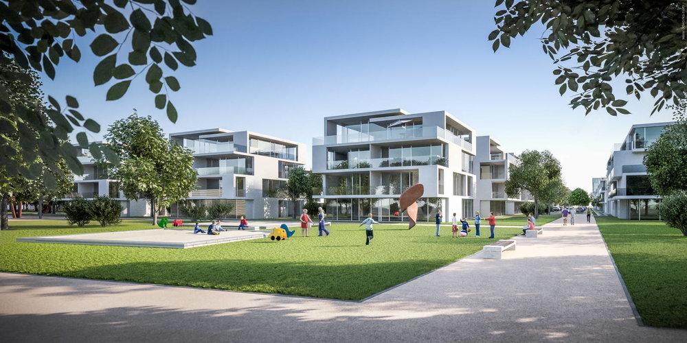 Architekturvisualisierung, Marienhain Köpenick - Vorderwülbecke Gesellschaft von Architekten mbH