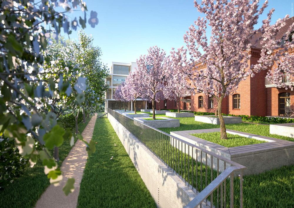 3D Visualisierung, Altbausanierung und Wohnungsbau, Potsdam