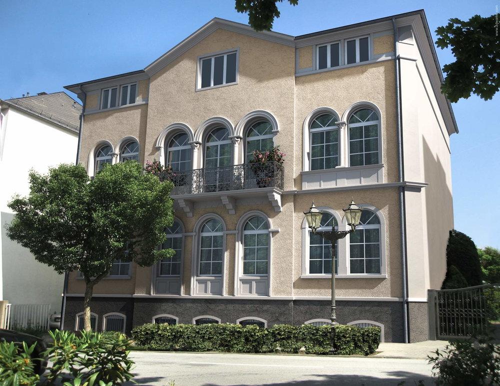 3D Visualisierung, Altbaumodernisierung, Bad Homburg - Tenkhoff Properties
