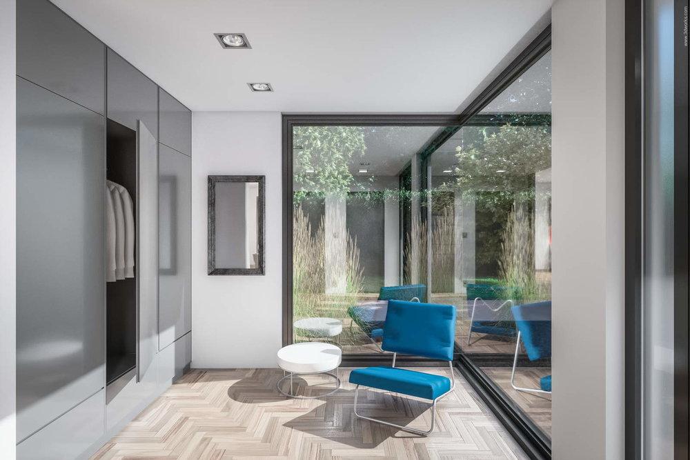 Visualisierung von Inneräumen - Pool House Interior