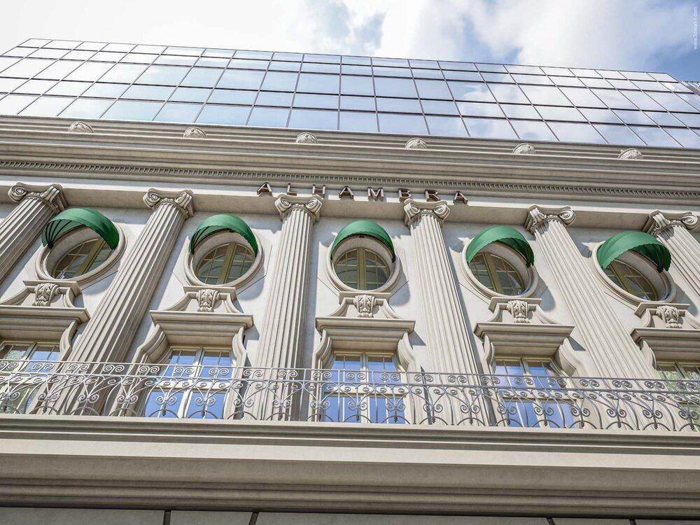 "Fassadenvisualisierung - ""Alhambra"", Berlin"