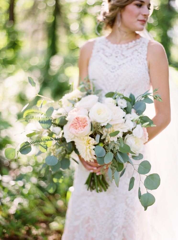 Natural bridal portraits