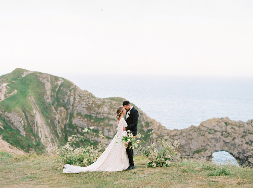 CLIFFSIDE ELOPEMENT: ENGLAND