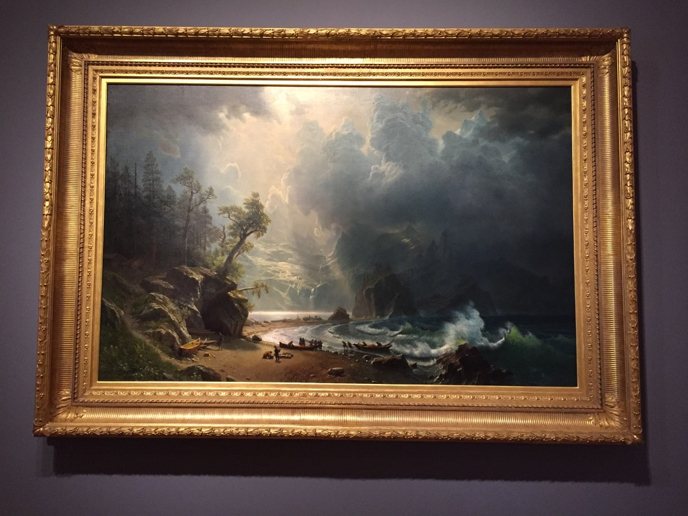 Puget Sound on the Pacific Coast by Albert Bierstadt