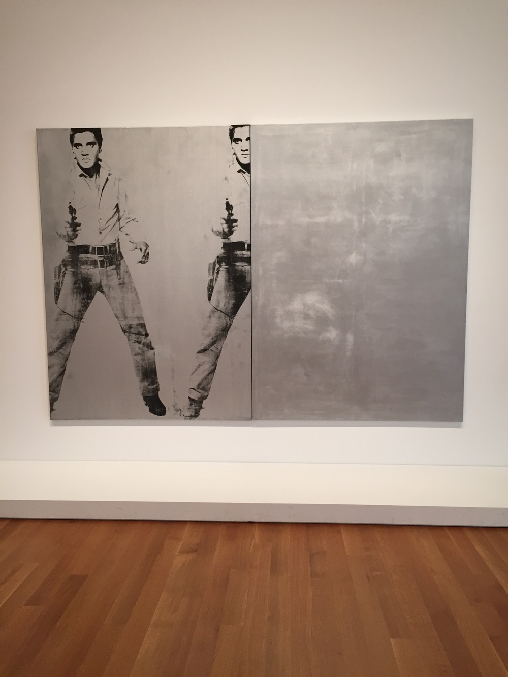 Double Elvis by Andy Warhol
