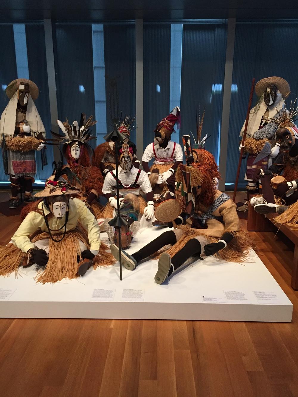 Okumpka Masquerade Players by Chukwu Okoro