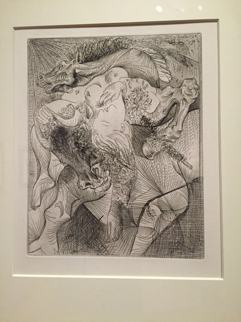 Female Bullfighter II by Pablo Picasso