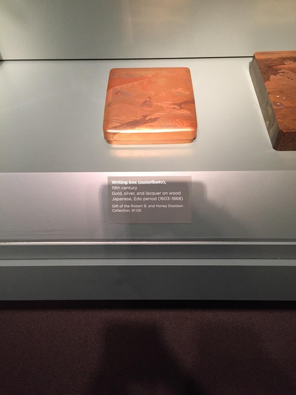 box from 19th century Edo period (1603-1868)