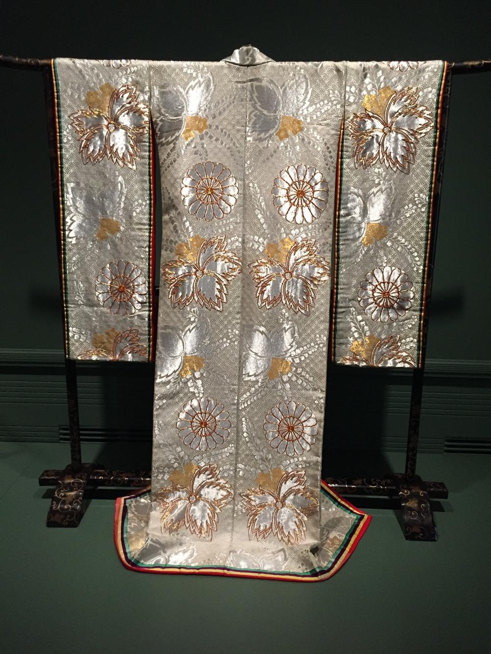 ceremonial wedding kimono, 20th century