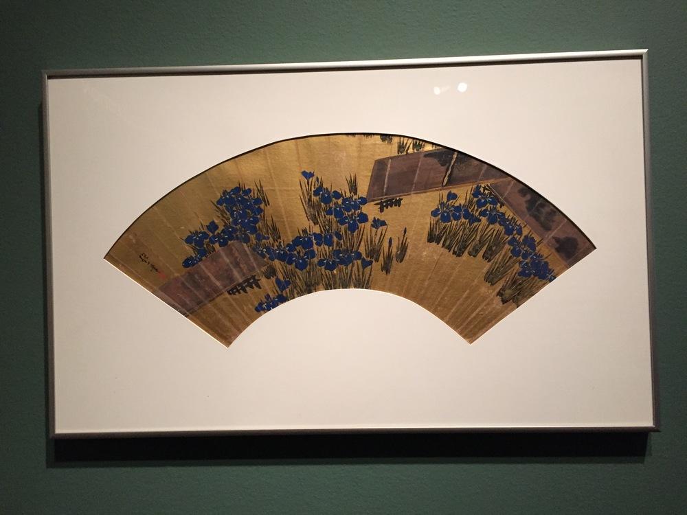 fan, Edo period (1603-1868)