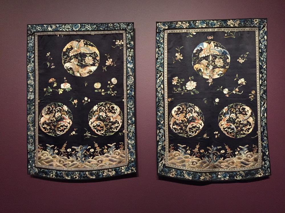 chinese silk hangings