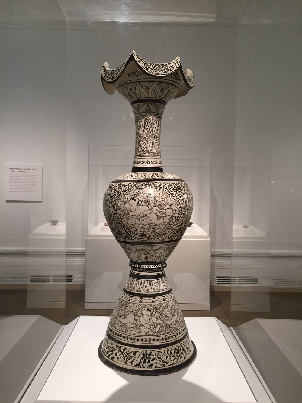 vase from Jin period (1115-1234)