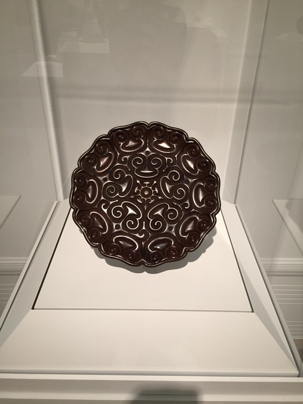 plate from Yuan dynasty (1279-1368)