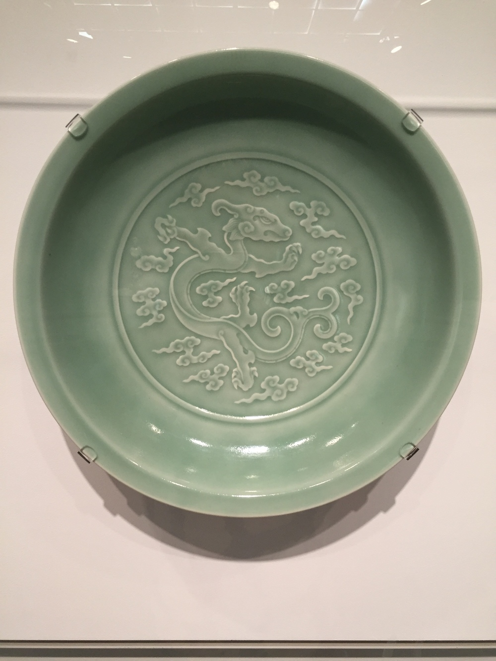 charger from Qing period (1644-1912)