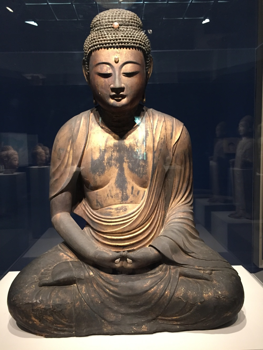 Buddha from Japanese Heian period (794-1185)
