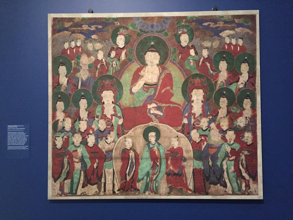 Tejaprabha Buddha from Korean Joseon dynasty (1392-1910)