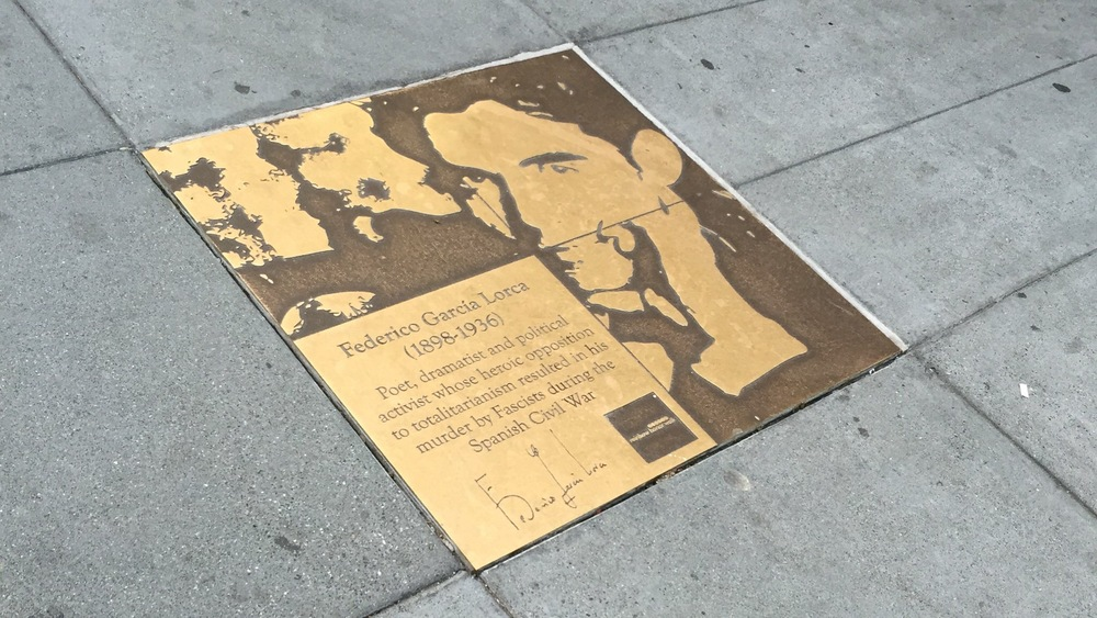 lgbtq+ walk of fame in castro